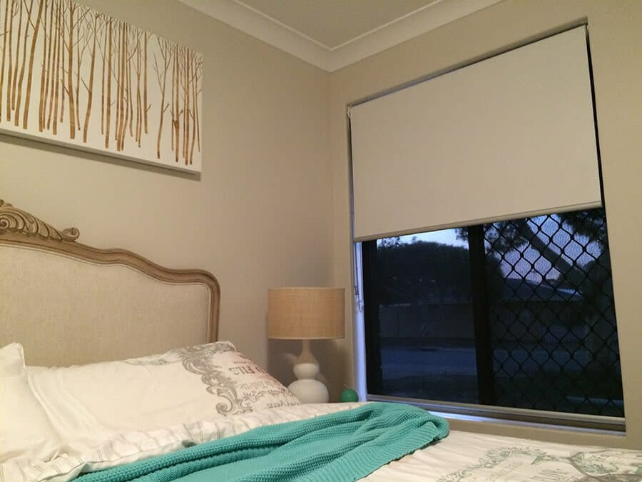 Dual Roller Blinds for Baby's Room
