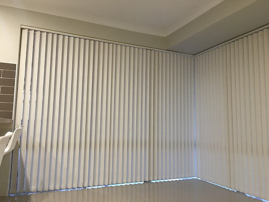 Vertical Blinds for Baby's Room